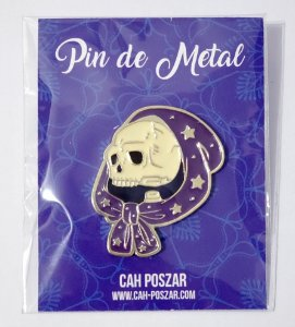 Pin de Metal - Noite