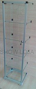 VITRINE TORRE MODULADA 0,35x0,45x1,60m
