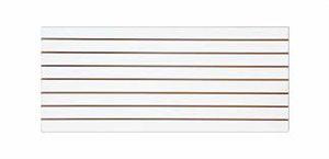 Painel Canaletado Branco 2,44 x 0,61