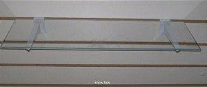 Prateleira Painel 20 x 80 - Vidro