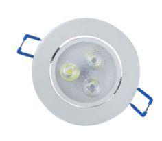 Spot redondo embutir Super LED 3W Ø 8,5cm