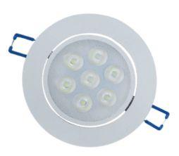 Spot redondo embutir Super LED 7W Ø 10,3cm