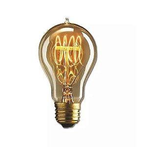 Lâmpada Filamento Carbono Thomas Edson 40W A19
