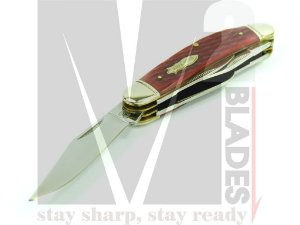 Canivete Clássico 5 lâminas Rough Rider Sowbelly RR1181