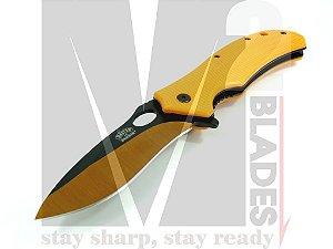 Canivete c/ Pederneira Master USA Ballistic MU-A039OR