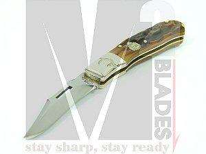 Canivete Clássico Colt Tiger Paw CT503 (talas em chifre)