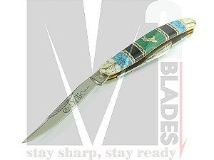 Canivete Clássico 3 lâminas Colt Stockman Exotic CT569