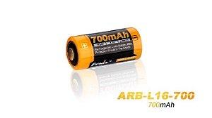 Bateria Recarregável Fenix 16340 3,7V 700 mA/h