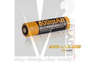 Bateria Fenix 14500 3,6V 800 mA/h