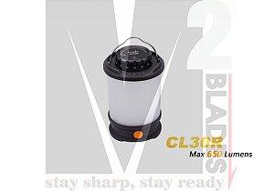 Luminária Recarregável USB Fenix CL30R 650 lumens