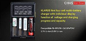 Carregador Digital Inteligente Klarus CH4S