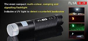 Mini Lanterna Lampião e Sinalizador Klarus FL1A