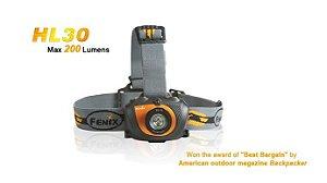 Lanterna de Cabeça Fenix HL30 (VERDE)
