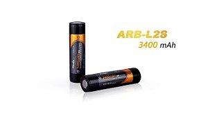 Bateria Li-ion Fenix 18650 3.7 V 3400 mA/h (ARB-L2S) Unidade