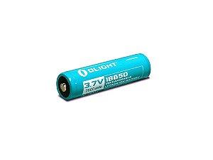 Bateria Recarregável Olight 18650 3,7V 2600 mA/h