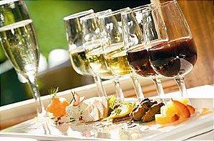 Curso de harmonização de Vinhos e Pratos