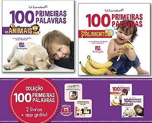 COLEÇÃO 100 PRIMEIRAS PALAVRAS - ANIMAIS E ALIMENTOS