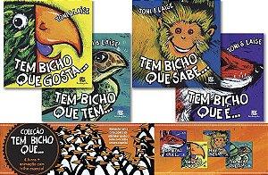 COLEÇÃO TEM BICHO QUE... - 4 VOLUMES