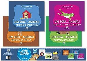COLEÇÃO UM SOM...ANIMAL! - 4 VOLUMES