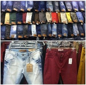 Calças Jeans Masculinas - 20 Peças