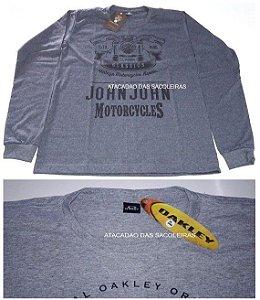Camiseta Manga Longa malha fio 30.1 / 100% algodão - 10 Peças