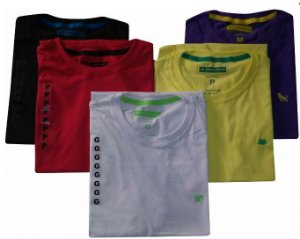 Kit 20 Camisetas Deluxe