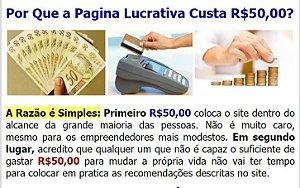 Renda Extra - Página Lucrativa - Receba Ilimitados Pagamentos de R$ 50,00 na sua conta do Pagseguro