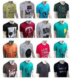 Kit 50 Camisetas Variadas / FRETE GRÁTIS