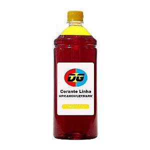 Tinta Universal Para Cartuchos Hp Corante Canon Lexmark Yellow 500 ml