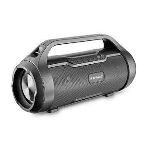 Caixa Multilaser Super Bazooka Portátil Com Bluetooth Boombox TWS 180W BT/AUX/SD/USB/FM SP339