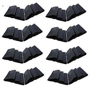 Embalagem Plástica Para Toner Preto Brilhante 20 x 45 Pacote com 100 Unidades
