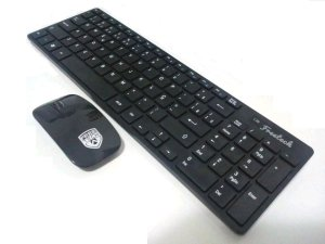 Kit Teclado + Mouse Wireless Freetech Fr-kbm500w