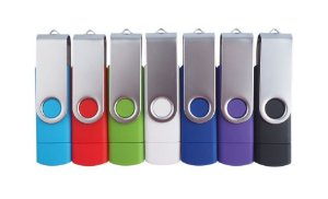 Pen Drive Duplo Multifuncional Usb Flash Drive/otg 16gb 2.0