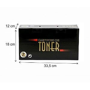 Caixa Neutra Para Toner Média Com 50 Unidades Preta