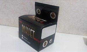 Caixa Neutra Para Cartuchos Preta Serie 3000 Pacote Com 100 Unidades