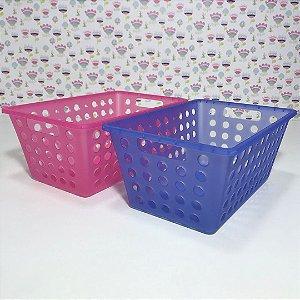 Duas (2) caixas organizadoras pequenas