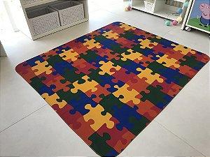 Tapete quebra-cabeça - Medida 1,30 x 1,50
