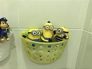 Cesto organizador de brinquedos para banheiro Am
