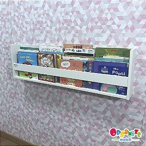 Organizador de livros de parede 1m