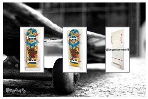 Organizador de skate vertical