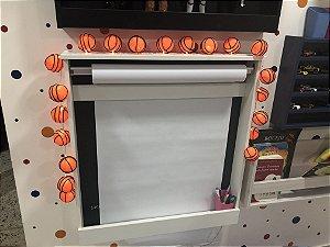 Fio de luz LED com 20 bolas - basketball