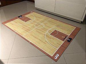 Tapete quadra de basquete PVC - medida 0,80 x 1,20