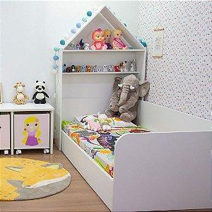 Cabeceira de casinha infantil (cama de solteiro)