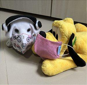 Máscara reutilizável infantil