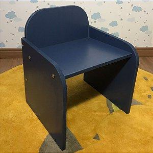 Cadeira fixa infantil - de 3 a 5 anos AZUL MARINHO