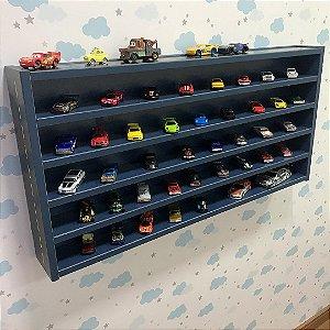 Organizador de carrinhos azul G com tema