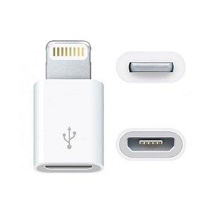 ADAPTADOR KAIDI MICRO USB PARA LIGHTNING MACHO KD-223