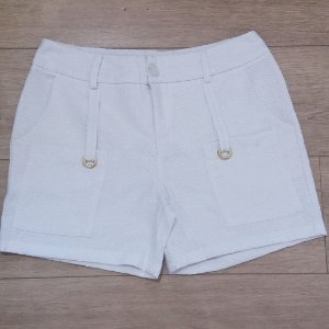 SHORT OFF WHITE