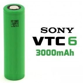 BATERIA 18650 - VTC6 - SONY 3.7V 3000 MAH