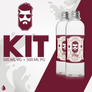 Kit - VG 500ml + 500ml PG
